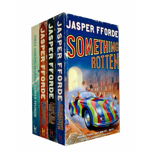 Jasper Fforde Thursday Next Series 4 Books Collection Set - The Book Bundle