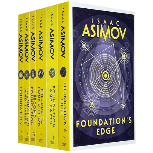 Isaac Asimov Collection 6 Books Set - The Book Bundle