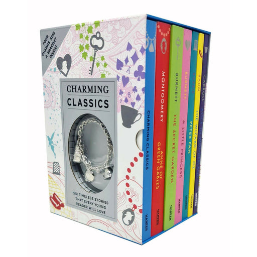 Charming Classics 7 Books Collection Set Alice in wonderland, A Little princess - The Book Bundle