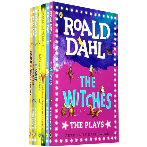 Roald Dahl 7 Books Children Collection Set Fantastic Mr Fox, Twits, Witches, BFG - The Book Bundle
