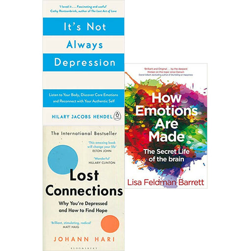 It's Not Always,How Emotions Are Made,Lost Collection 3 Books Collection Set NEW - The Book Bundle