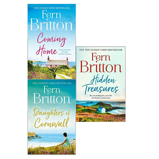 Fern Britton Daughters, Coming, Hidden 3 Books Collection Set Paperback NEW - The Book Bundle