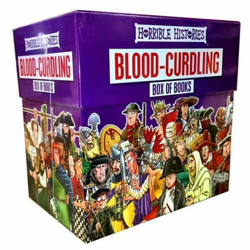 Blood-Curdling Box of Books 20 Books Set (Horrible Histories Collections) - The Book Bundle