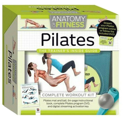 Pilates Anatomy of Fitness The Trainer's Inside Guide Complete Workout Kit - The Book Bundle