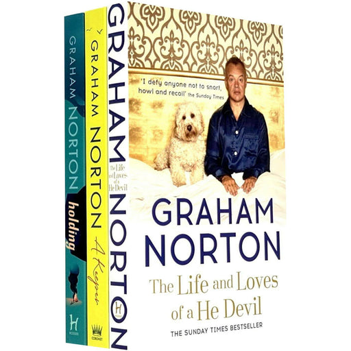 Graham Norton Collection 3 Books Set (A Keeper, Holding, The Life and Loves of a He Devil) - The Book Bundle