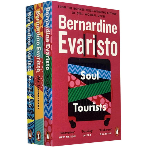 Bernardine Evaristo 3 Books Set Pack Soul Tourists, Mr Loverman, Blonde Roots - The Book Bundle