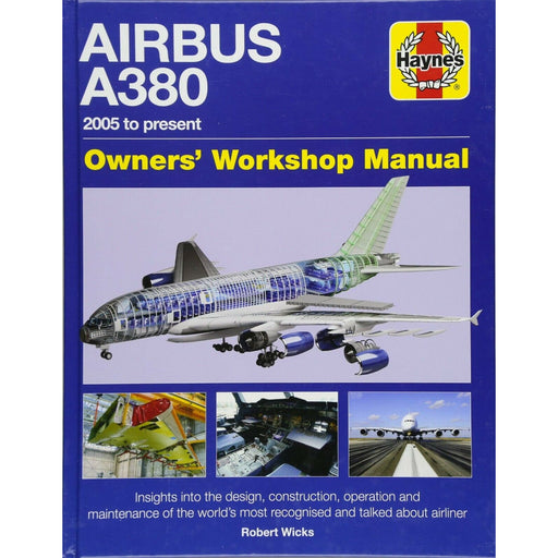 Airbus A380 Manual 2005 Onwards By Robert Wicks - The Book Bundle