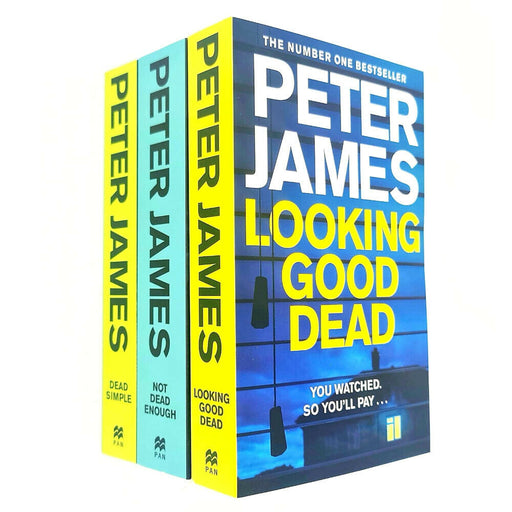 Peter James Roy Grace Series 3 Books Collection Set - The Book Bundle