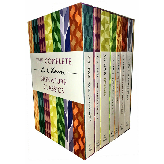 The Complete C. S. Lewis Signature Classics 7 Books Collection Boxed Set NEW - The Book Bundle