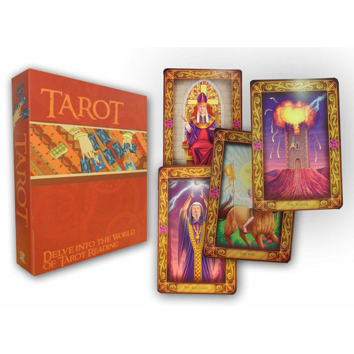 Easy Tarot Cards Deck and Book Set Collection Gift Pack Psychic Learn To Read - The Book Bundle