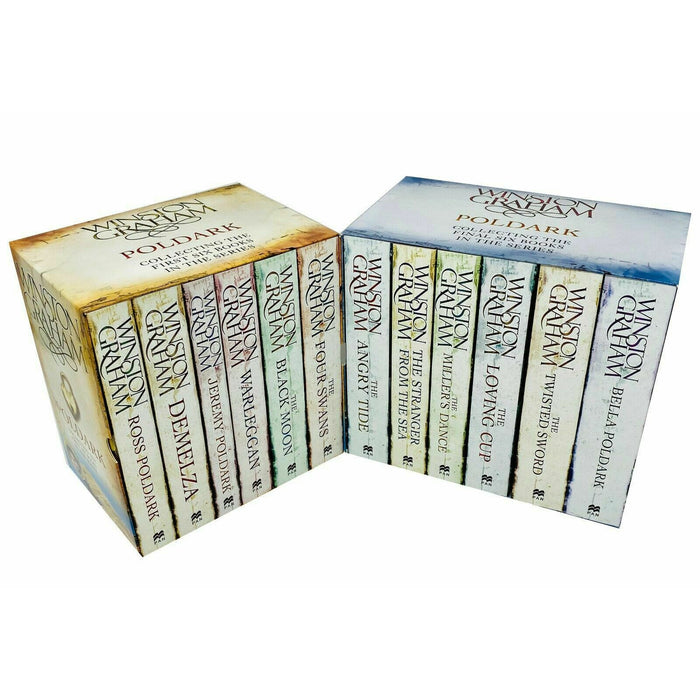Poldark Complete Collection by Winston Graham Series Books 1 - 12 Gift Box Set - The Book Bundle