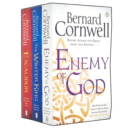 Bernard Cornwell Warlord Chronicles Collection 3 Books Set - The Book Bundle