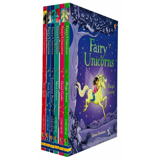 Usborne Fairy Unicorns 6 Books Collection Set By Zanna Davidson Star Spell - The Book Bundle