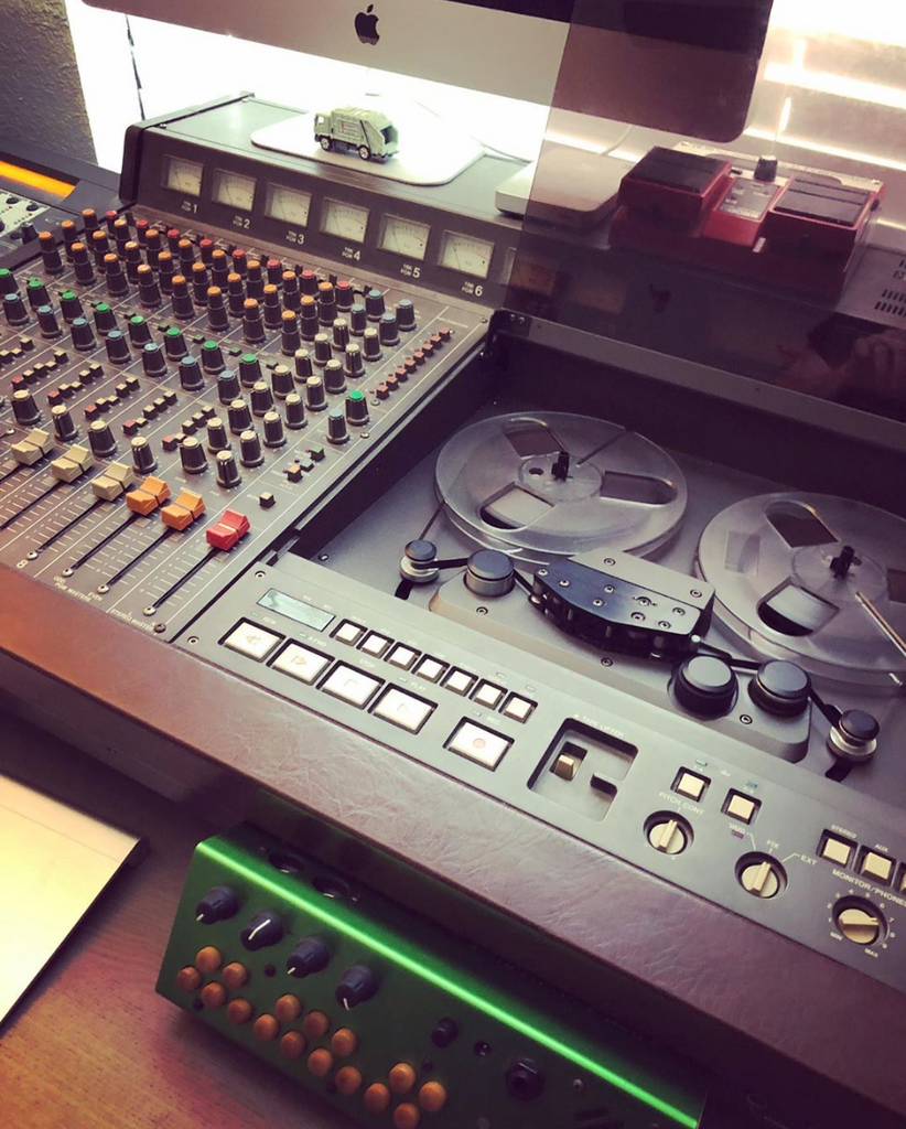 Ty Richards begins production on 3rd studio album - Tascam 388 Tape Machine