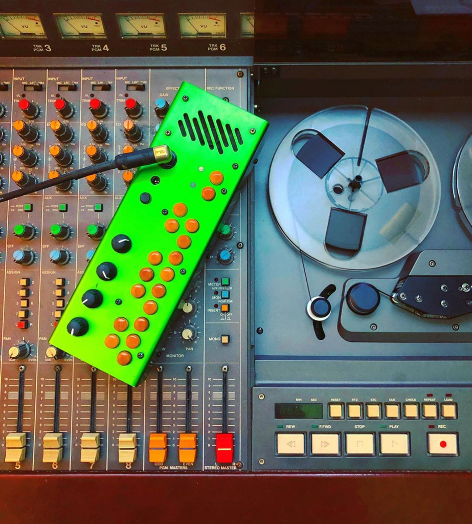 Ty Richards begins production on 3rd studio album - Pocket Piano, Tascam 388 Tape Machine
