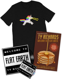 """Welcome to Flat Earth"" Bundle - Ty Richards"
