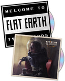 "CD Duo Bundle by Ty Richards - ""Zillion"" and ""Welcome to Flat Earth"" - Covers"