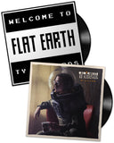 "Vinyl LP Duo Bundle by Ty Richards - ""Welcome to Flat Earth"" and ""Zillion"" - Covers"