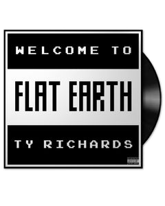 """Welcome to Flat Earth"" Vinyl LP by Ty Richards - Cover"