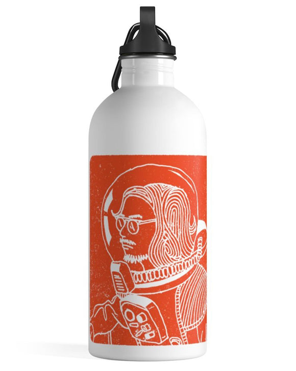 Spaceman Stainless Steel Water Bottle - Ty Richards