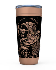 Spaceman Copper Tumbler - Ty Richards