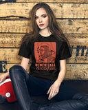 Spaceman T-Shirt in Black - Ty Richards - Womens