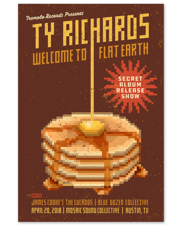 Pancakes Poster - Ty Richards