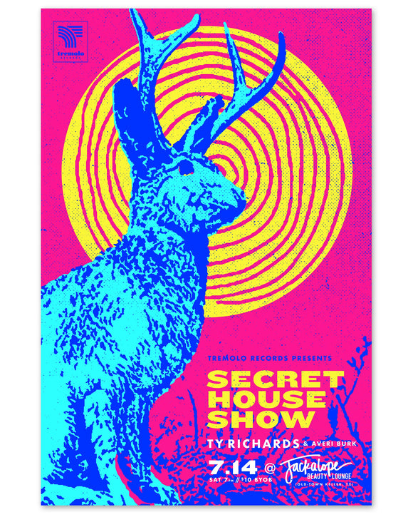 Jackalope Poster - Ty Richards