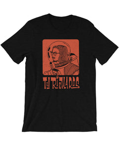 Spaceman T-Shirt in Black - Ty Richards