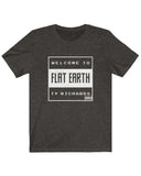 """Welcome to Flat Earth"" T-Shirt"