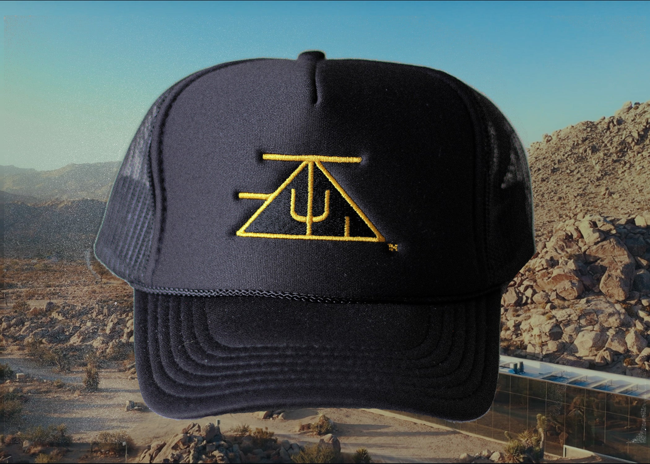 TZUL Logo Trucker Hat (Black)