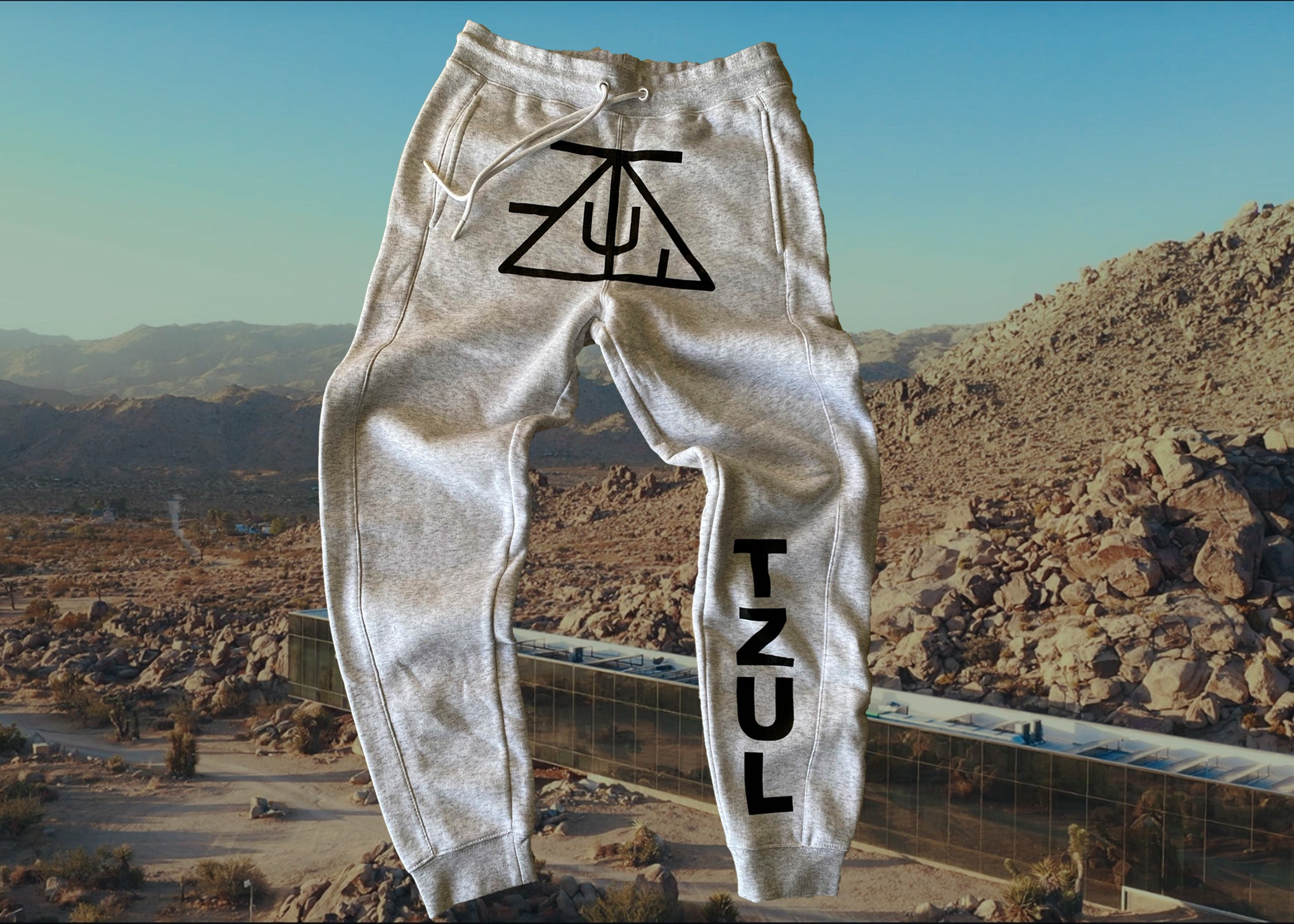 TZUL Essential Lounge Joggers (Heather Grey)