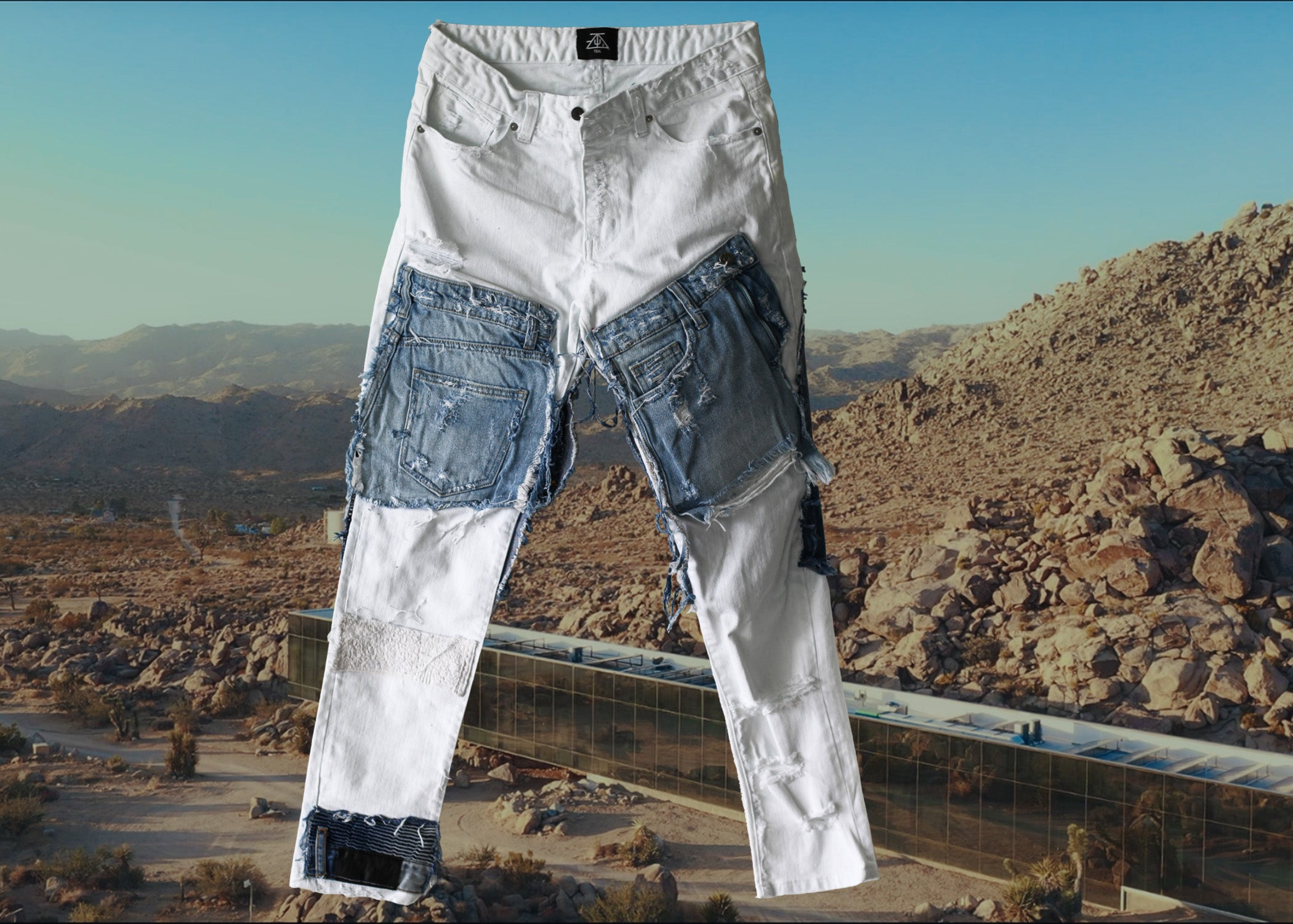 TZUL Ice Denim Jeans