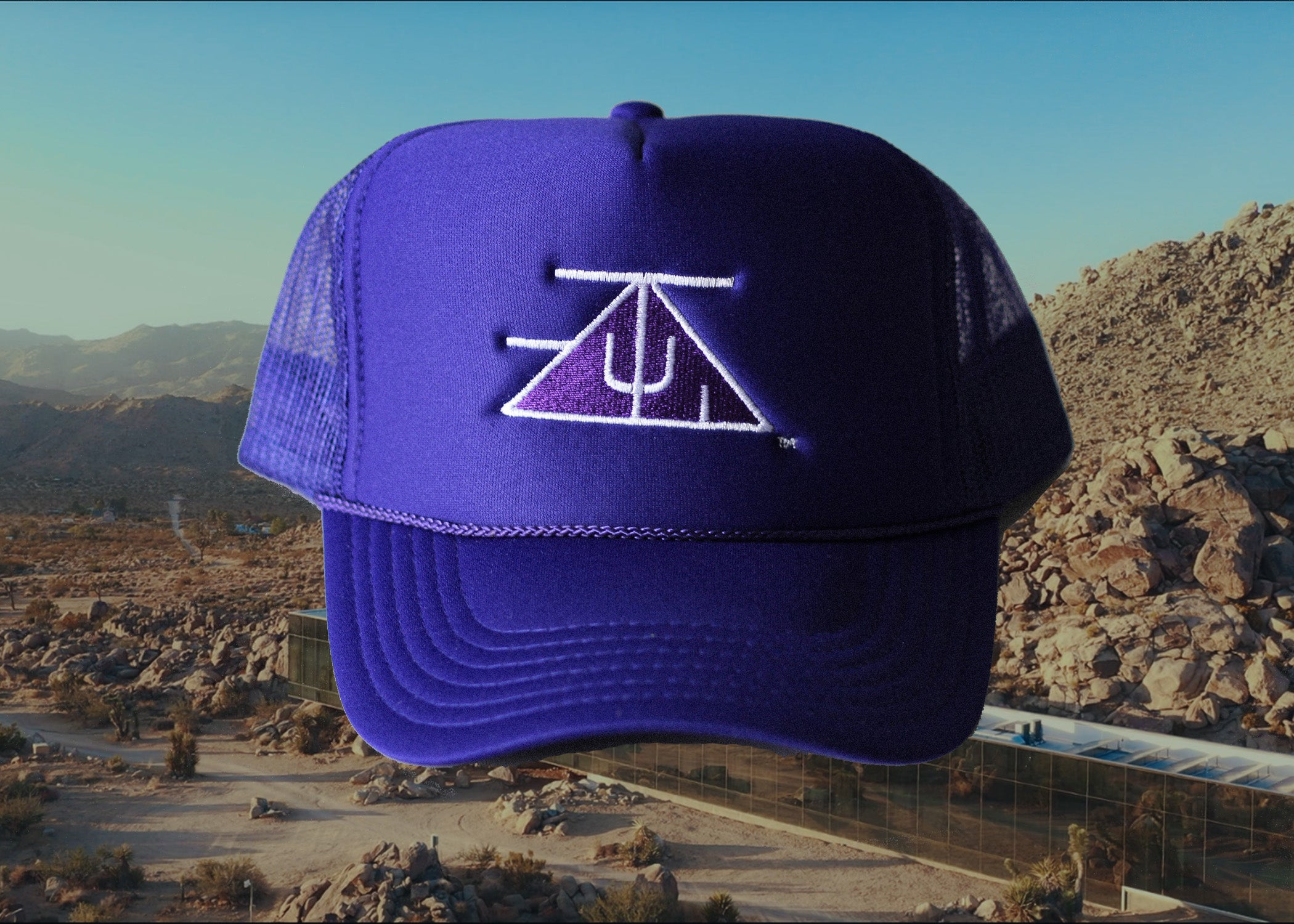 TZUL Logo Trucker Hat (Purple)