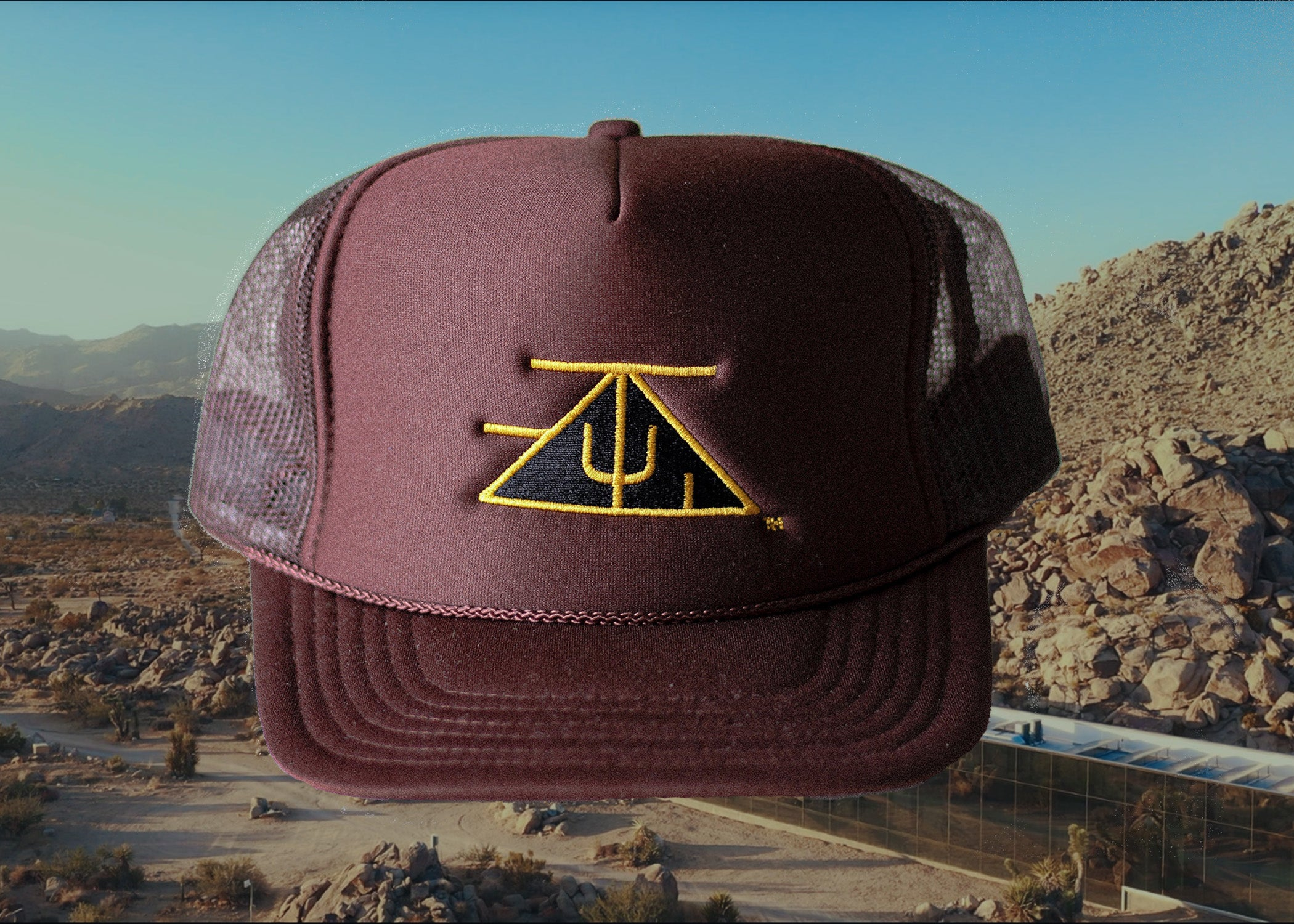 TZUL Logo Trucker Hat (Brown)