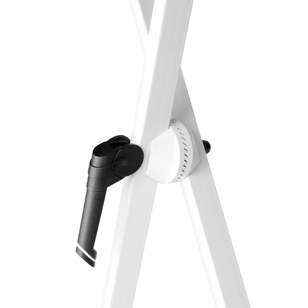 Gravity KSX2 Double Brace Keyboard Stand (White)