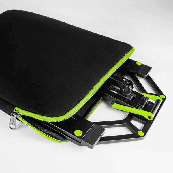 Gravity Adjustable Laptop Stand with Neoprene Bag
