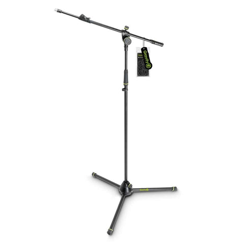 Gravity MS4322B Microphone Stand w/ Telescopic Boom