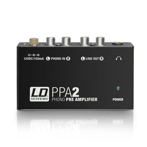 LD Systems PPA2 Phono Preamplifier and Equaliser