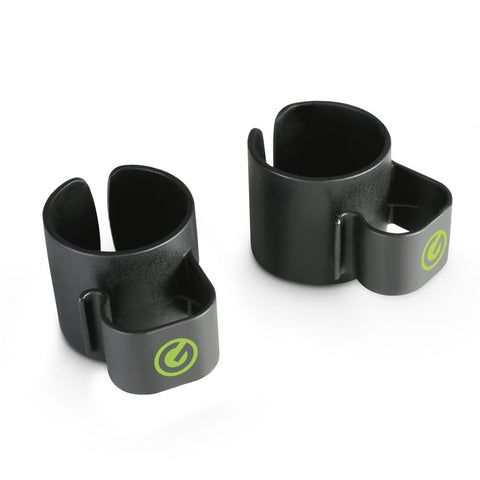 Gravity SACC35B 35mm Speaker Pole Cable Clips (Pair)