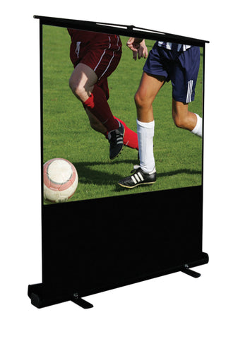 "KSL 86"" Portable Projection Screen"