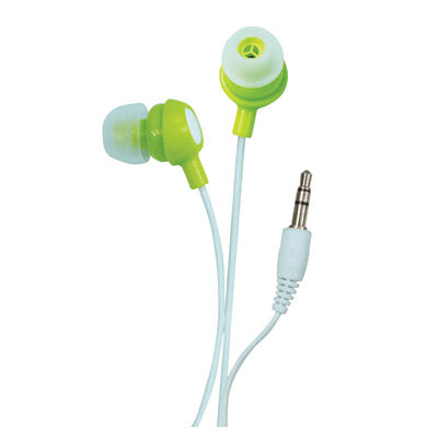 Sound Lab In-Ear Stereo Earphones (Green)