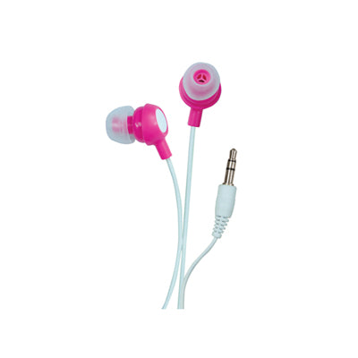 Sound Lab In-Ear Stereo Earphones (Pink)