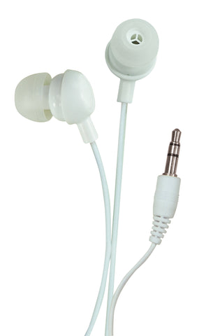 Sound Lab In-Ear Stereo Earphones (White)