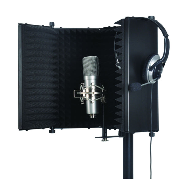ELV Studio Microphone Reflexion Screen (Black)