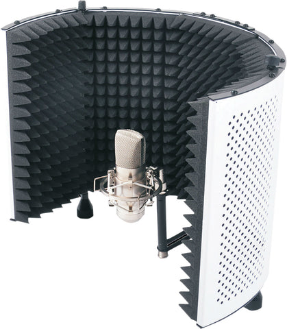 ELV Studio Microphone Reflexion Screen (White)