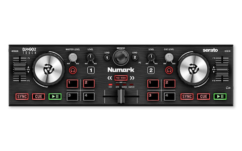 Numark DJ2GO2 Touch - Pocket DJ Controller with Audio Interface