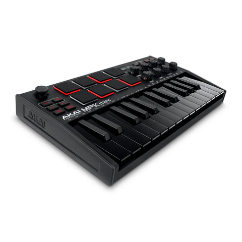 Akai MPK Mini MK3 - Limited Edition All Black