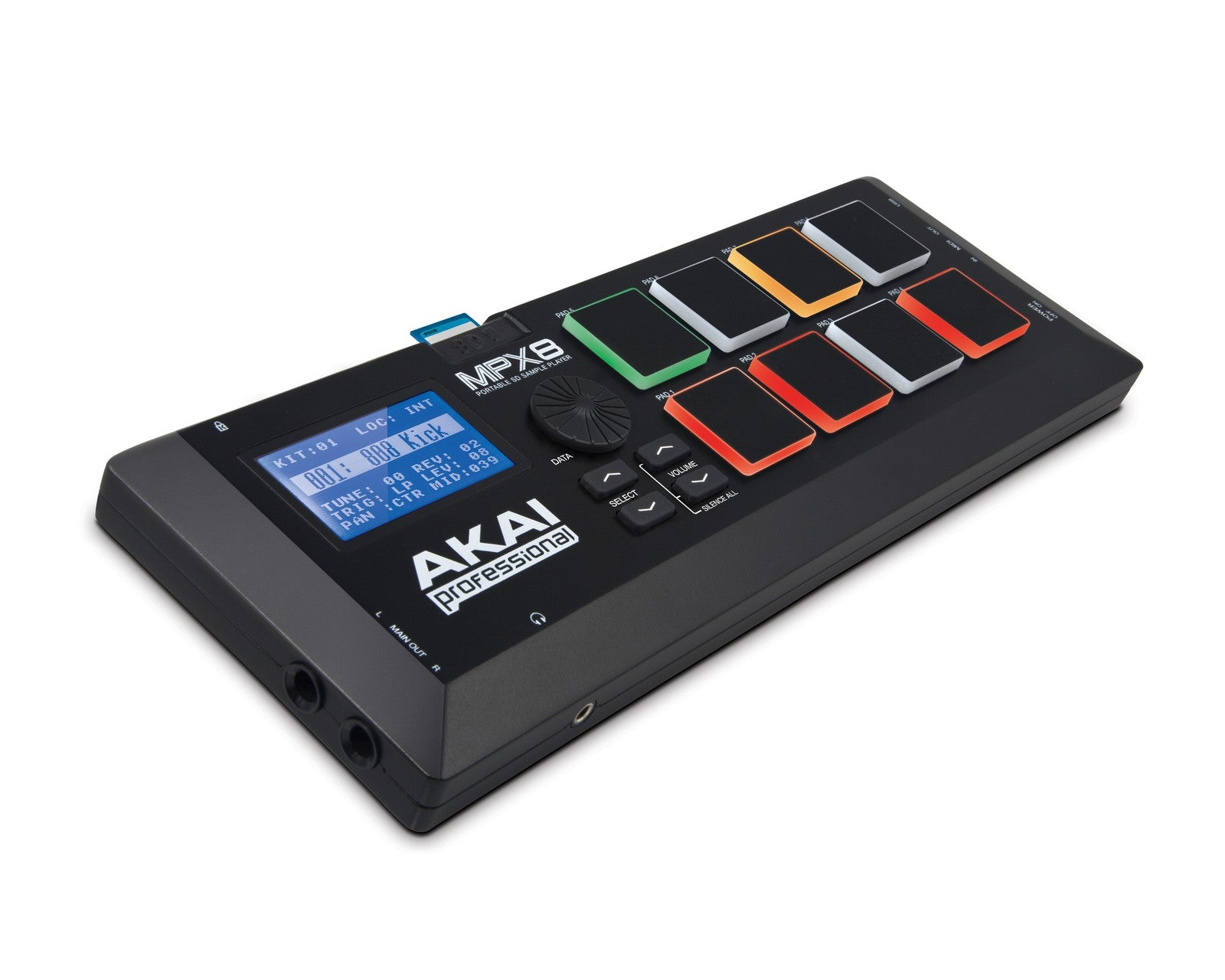 Akai MPX8 Mobile SD Sample Player