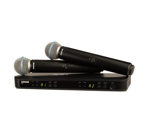 Shure Beta 58 Dual (BLX288/BETA58) Wireless System